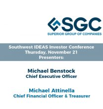 Superior Group of Companies to Present at the Southwest IDEAS Investor Conference